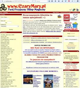 CzaryMary w 2005 roku