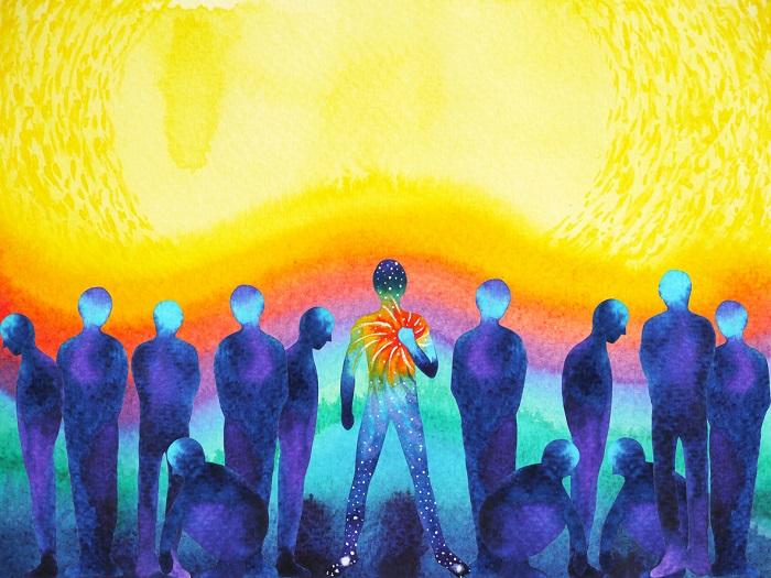 """Oświecone serce mówi: """"Jesteś tym, kim powinieneś być""""."""