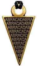 Amulet ABRACADABRA