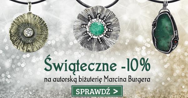 Świąteczne -10% na autorską biżuterię Marcina Burgera