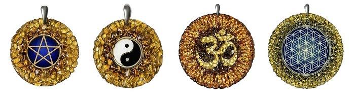 Amulety z bursztynem