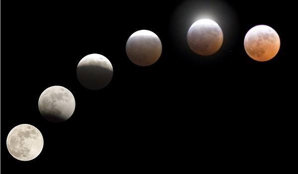Pełnia i zaćmienie Księżyca
